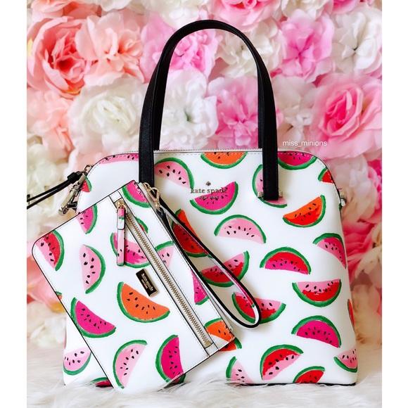 kate spade Handbags - Kate Spade Make A Splash Watermelon Bag Wristlet